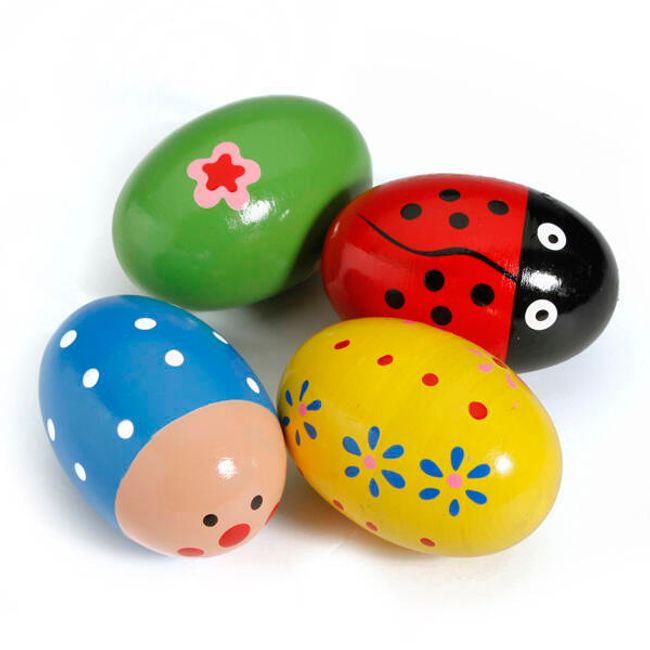 Dětské chrastící vajíčko 1