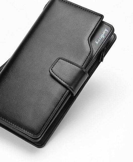 Férfi pénztárca elegáns stílusban - 4 változat