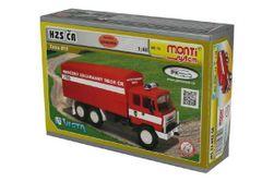 Stavebnice Monti System MS 74 Tatra 815 hasiči ČR 1:48 v krabici 22x15x6cm RM_40000074