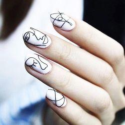 Stickere pentru unghii - 4 modele