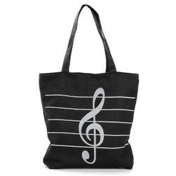 Летняя сумка со скрипичным ключом