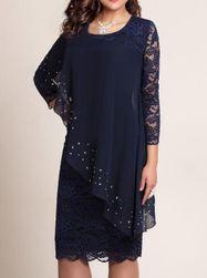 Bayan büyük beden elbise Renae