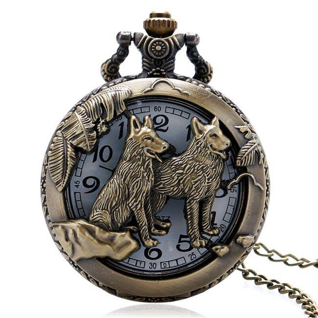 Džepni sat Wolf 1
