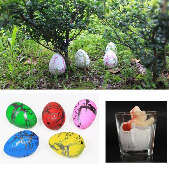 Волшебные яйца динозавров- 5 шт. 1