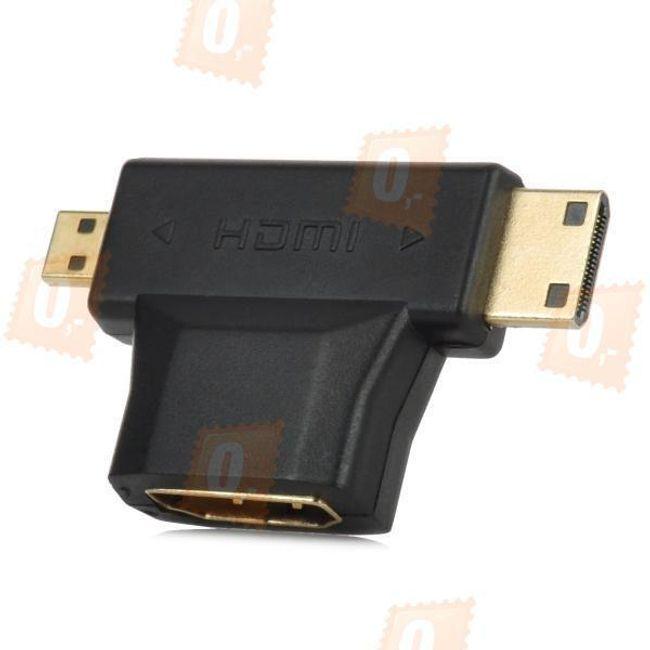 Redukcja HDMI na mini HDMI i micro HDMI 1