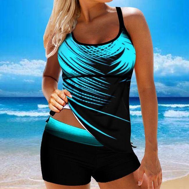 Damski strój kąpielowy plus size Erlea 1