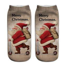 Vánoční dámské ponožky