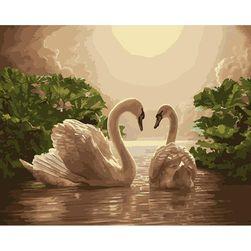 Slika labudova - Naslikaj sam