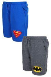 Kraťasy superman a batman dětské LT_111033