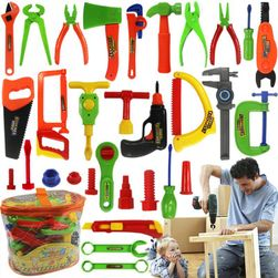 Zestaw plastikowych narzędzi