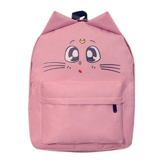 Roztomilý kočičí batoh - různé barvy 1