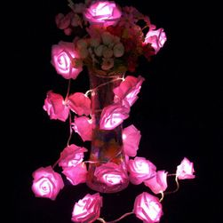 Svetleći LED lanac - ruže