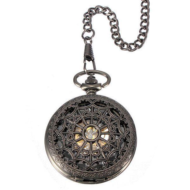 Samonakręcający się zegarek na łańcuszku 1