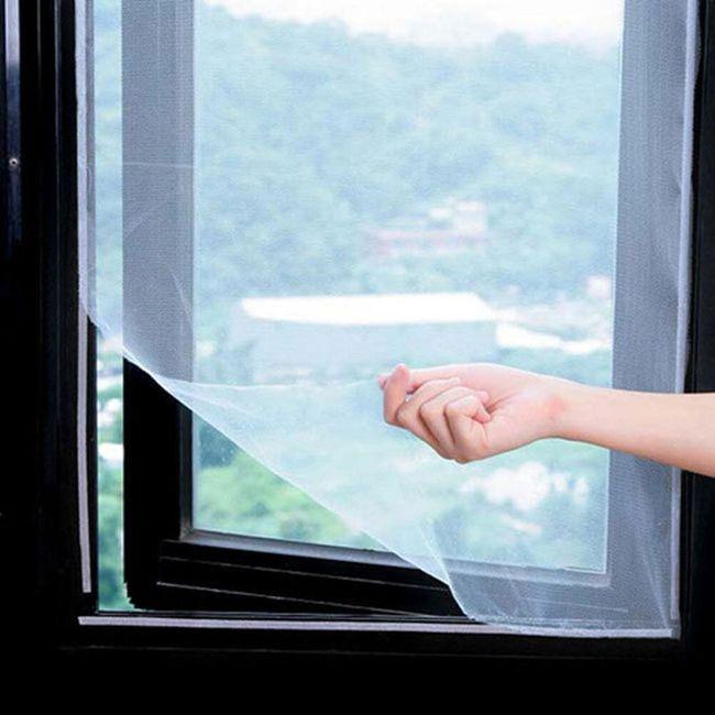 Mrežica za prozor protiv insekata - 130 x 150 cm 1