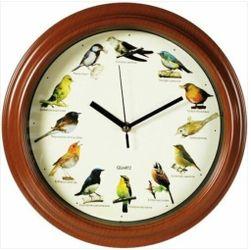 Zegar ścienny z odgłosami ptaków PD_632636