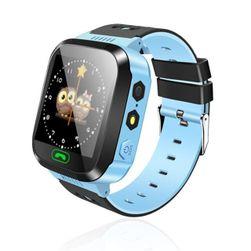 Inteligentny zegarek wielofunkcyjny dla dzieci - 2 kolory Niebieski