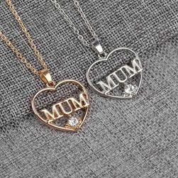 Řetízek s motivem srdce pro mámy