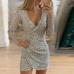 Женское платье с длинными рукавами Aleida