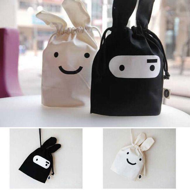 Praktikus táskák ninja motívummal - 2 szín közül választhat 1