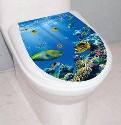 Наклейка для туалета B05689