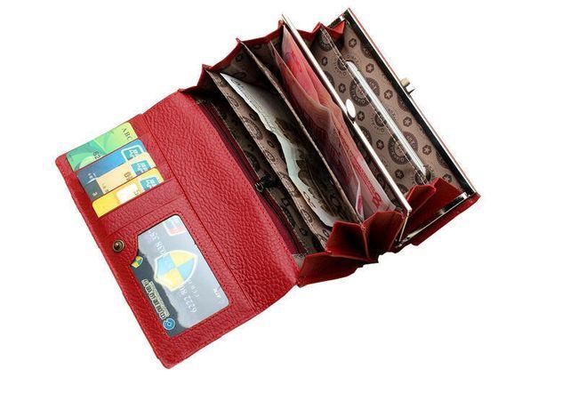 Minőségi egyszerű női pénztárca - 2 szín
