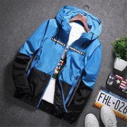 Pánská bunda Marco - Modrá-velikost č. 3
