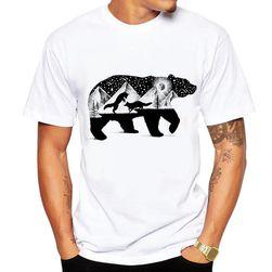 Tričko s medvědem