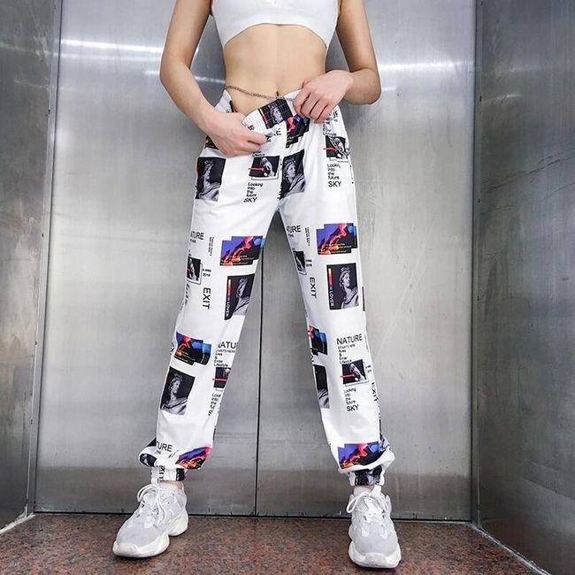 Damskie spodnie dresowe WT115 1