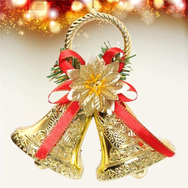 Karácsonyi dekoráció - dupla csengő 1