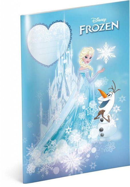Caiet - Regatul de gheață - Elsa și Olaf - Nr. 444 - 5 piese 1