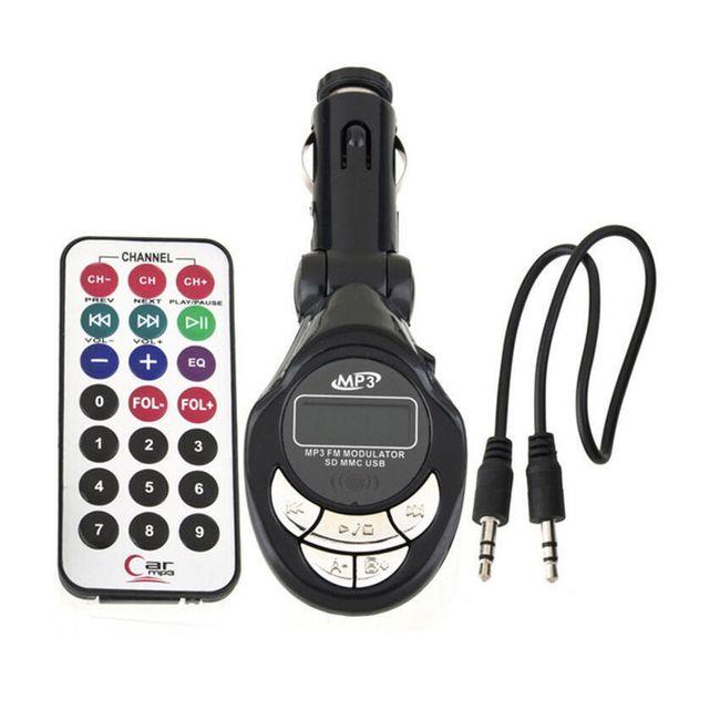 MP3 přehrávač do auta s ovladačem 1
