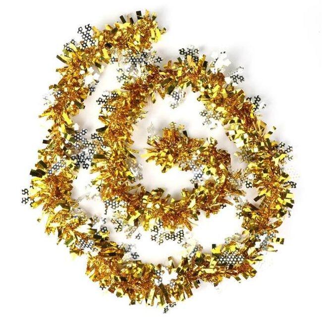 Vánoční řetěz na stromeček - 4 barevné varianty 1
