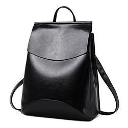 Elegancki plecak jednokolorowy - 12 kolorów