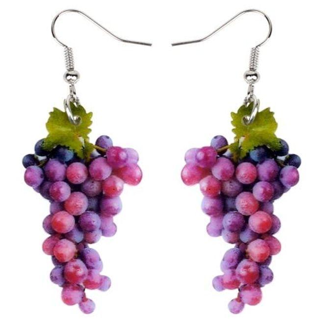 Damskie kolczyki Wine 1