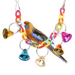 Игрушка для птиц- колокольчики
