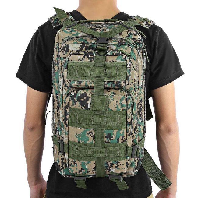 Rucsac militar pentru bărbați - 9 variante 1