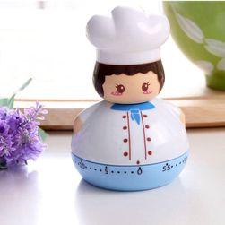 Cronometru de bucătărie în formă de bucătar