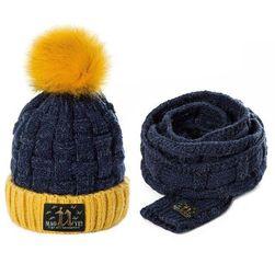 Детска шапка с шал Mao