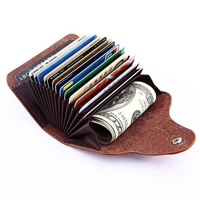 Pouzdro na osobní doklady a zákaznické karty - 6 barev 1