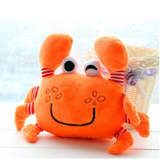 Plyšový krab pro děti - různé barvy 1