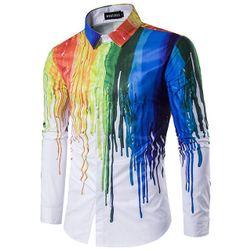 Muška košulja sa stilskim printom