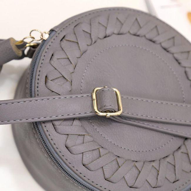 Kerek kézi táska - 4 változat