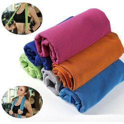 Ręcznik sportowy z mikrofibry - 100 x 30 cm