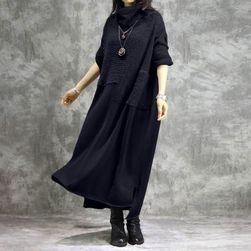 Damska plus size sukienka Nora