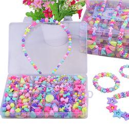 Sada dievčenských korálikov na výrobu šperkov