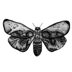 Privremena tetovaža - leptir