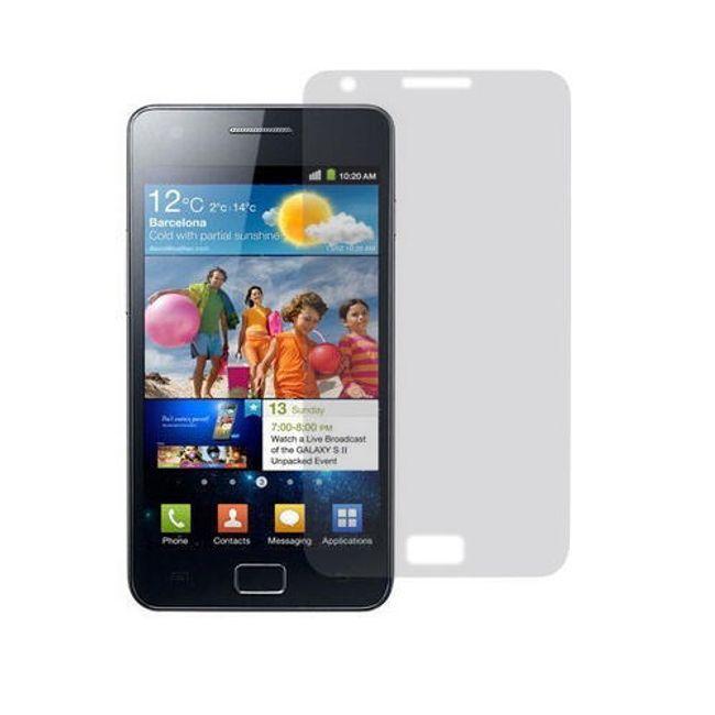Transparentní ochranná folie pro Samsung Galaxy S2 II i9100 1