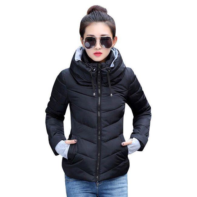 Ženska jakna sa kapuljačom - 9 varijanti 1