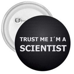Przypinka Scientist