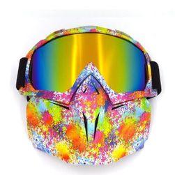 Lyžařské brýle s maskou LH01